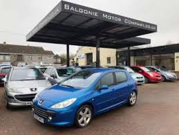 blue peugeot for sale used blue peugeot 307 for sale rac cars