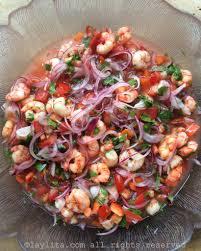 shrimp ceviche ceviche de camarón laylita u0027s recipes