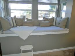 bay window seat cushions also bench pillow cover also large window