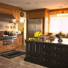 under cabinet lighting trim fabulous distressed black kitchen remodeling ideas with island
