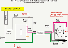 images of split outlet wiring diagram how to wire an electrical