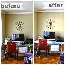 How To Organize A Small Desk by Simply Done Tami U0027s Entry U0026 Office Nook Simply Organized
