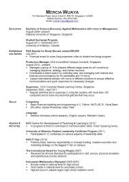 simple resumes exles resume personal attributes exles resume sle