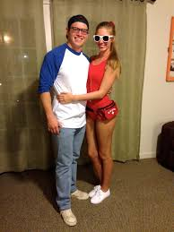 squints and wendy peffercorn couples costume halloween costume