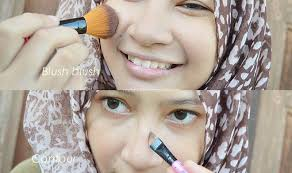 Eyeshadow Wardah Untuk Kuning Langsat review viva blush on duo no 4 orange brown
