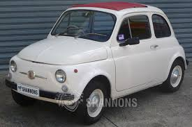 old fiat sold fiat 500 bambino sedan auctions lot 8 shannons