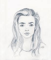 minimalist portrait in pencil skillshare projects