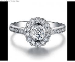 verlobungsring billig billig damen moissanite ring 14kt weißgold verlobungsring ringe