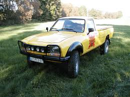 peugeot 504 live a life of dangel with a peugeot 4x4