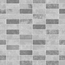 Tile Wallpaper Decor Ceramica Small Tile Effect Wallpaper Grey Soft Grey