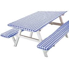 picnic table covers walmart deluxe picnic table cover set of 3 walmart com