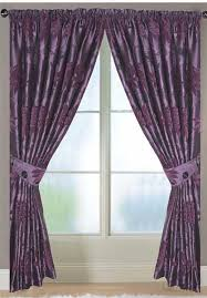 Aubergine Curtains Corsica Lined Aubergine Curtains Harry Corry Limited