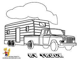 camper trailer coloring pages unique blue camper trailer