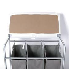 Laundry Sorter With Folding Table Storagemaniac 3 Lift Bags Laundry Sorter With Foldable Ironing