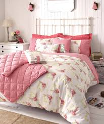shabby chic bedroom with pink bed cover shabby chic bedrooms on a