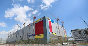 A Construction China And Semiconductors Samsung Electronics Begins Mass Production At Semiconductor