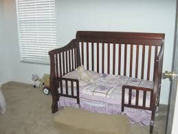 Changing Crib To Toddler Bed How To Convert A Kendall Crib Into A Toddler Bed Pottery Barn