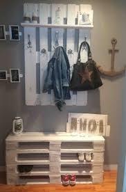 Wohnzimmerschrank Aus Paletten Die Besten 25 Holzpalette Betten Ideen Auf Pinterest