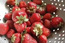 ina garten balsamic strawberries the perfect scoop of strawberry sorbet popsugar food