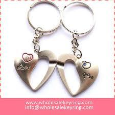 love key rings images Romantic couple heart keyrings pair love you heart keychain key jpg
