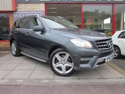 mercedes a class automatic for sale used mercedes m class ml250 cdi amg sport bluetec 5dr