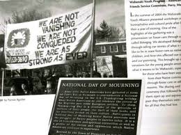 our spirit refuses to die declaring a national day of mourning