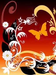 cool abstract butterfly designer free cell phone wallpapers