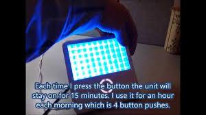 golite blu energy light philips golite blu energy light youtube