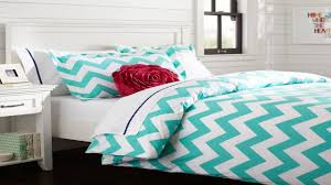Gray Chevron Bedding Bedding Grey And Teal Chevron Bedding Large Limestone Pillows