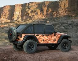 jeep moab truck mopar 50th annual moab easter jeep safari concept vehicles check