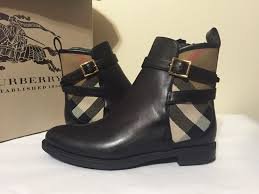 womens boots low heel burberry richardson black s low heel boots size 35 5