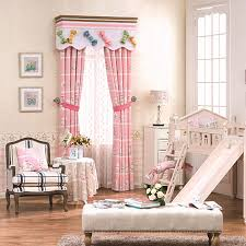 Nursery Valance Curtains Dreamy Pink Nursery Curtains Without Valance