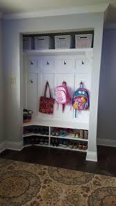 Diy Entryway Organizer Best 25 Entryway Closet Ideas On Pinterest Closet Bench Closet