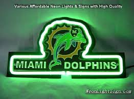 Neon Bar Lights Nfl Miami Dolphins 3d Neon Sign Beer Bar Light Nfl