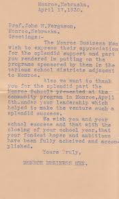 thanksgiving letter to parents nebraska letters 1925 30 u2013 history from five years of love letters