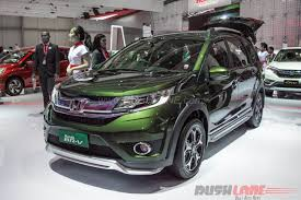 honda br v 2016 giias honda br v prestige and modulo variants showcased in