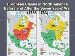 america map before and after and indian war 7 year war impacts thinglink