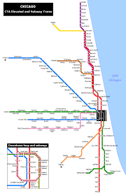 Public Transit Chicago Map by Chicago Has A Metro System Subway Metro Metro Chicago