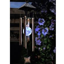 solar powered wind chime light cole and bright solar butterfly wind chime light on sale fast