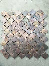 Copper Tiles For Kitchen Backsplash Stupendous Kitchen Arabesque Kitchen Tiles Kitchen Beveled