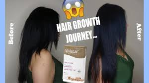 2 month viviscal hair growth before after youtube