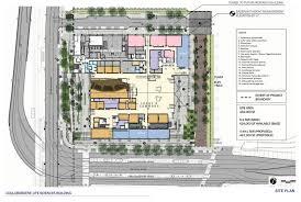 Building Site Plan Collaborative Life Sciences Building For Ohsu Psu U0026 Osu Aia Top Ten