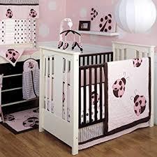 Ladybug Crib Bedding Set Line 4 Pc Crib Set Mod Bug Bug