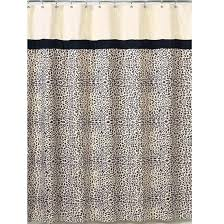 Design Shower Curtain Inspiration Leopard Print Curtains Wonderful Animal Print Shower Curtains