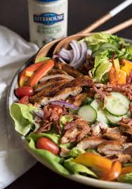 Salad Main Dish - the best chicken bacon ranch salad of summer u2014 bless this mess