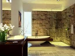 stone bathroom decor