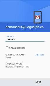 configure gryph mail office 365 on android mobile device