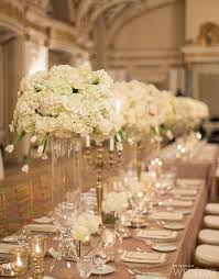 Tall Wedding Reception Centerpieces by Long Table Wedding Decorations Archives Weddings Romantique