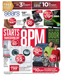 thanksgiving black friday deals sears black friday 2013 ad
