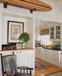 Surf Shack Coastal Kitchen - chic coastal living beach house bungalow cottage ideas